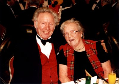 Patrick Page and his wife Margaret at Davenports Centenary